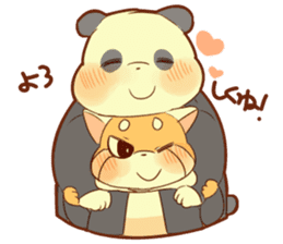 Lesser panda and Panda2 sticker #6850800