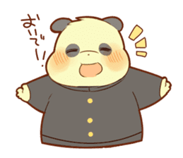 Lesser panda and Panda2 sticker #6850801