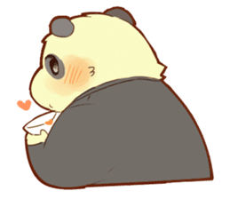 Lesser panda and Panda2 sticker #6850818