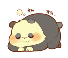 Lesser panda and Panda2 sticker #6850828