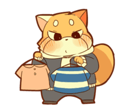 Lesser panda and Panda2 sticker #6850830