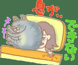 Cat true story 1 (Japanese) sticker #6851216