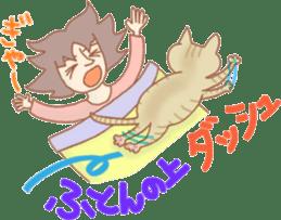 Cat true story 1 (Japanese) sticker #6851223