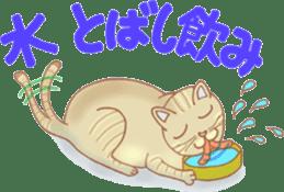 Cat true story 1 (Japanese) sticker #6851250