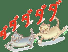 Cat true story 1 (Japanese) sticker #6851254