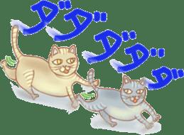 Cat true story 1 (Japanese) sticker #6851255