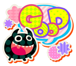 Lovely Seal [ Devil Color ] sticker #6857002