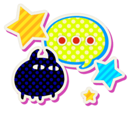 Lovely Seal [ Devil Color ] sticker #6857008