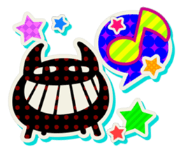 Lovely Seal [ Devil Color ] sticker #6857011