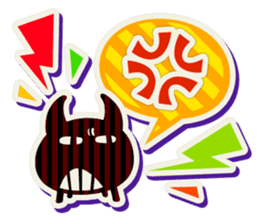 Lovely Seal [ Devil Color ] sticker #6857014