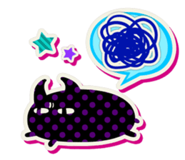 Lovely Seal [ Devil Color ] sticker #6857015