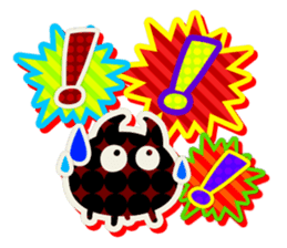 Lovely Seal [ Devil Color ] sticker #6857025