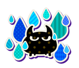Lovely Seal [ Devil Color ] sticker #6857034