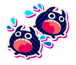 Lovely Seal [ Devil Color ] sticker #6857036