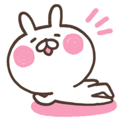 rabbit--sticker