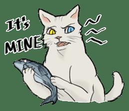 Mattie And Her Cat Arthur sticker #6863044