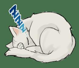 Mattie And Her Cat Arthur sticker #6863050