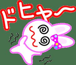Happy word of rabbit sticker #6863306