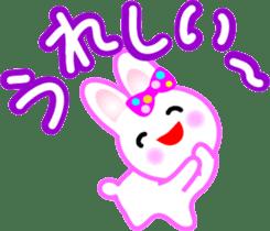 Happy word of rabbit sticker #6863323