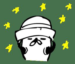 "The fancy bears ""SHAREKUMA CHAN SPINOFF"" sticker #6863406"