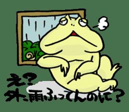 "Life of the ""Lepidobatrachus laevis"" sticker #6863828"