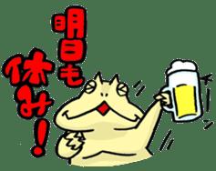 "Life of the ""Lepidobatrachus laevis"" sticker #6863840"