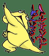 "Life of the ""Lepidobatrachus laevis"" sticker #6863850"