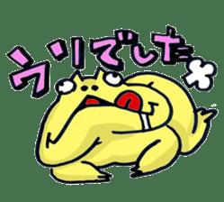 "Life of the ""Lepidobatrachus laevis"" sticker #6863852"