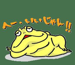 "Life of the ""Lepidobatrachus laevis"" sticker #6863854"