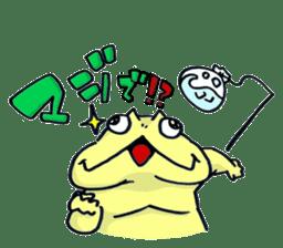 "Life of the ""Lepidobatrachus laevis"" sticker #6863861"