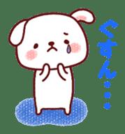 White cat and friends. sticker #6866042