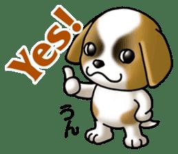 Your reply St. Bernard Dog Sticker sticker #6867224