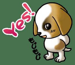 Your reply St. Bernard Dog Sticker sticker #6867225