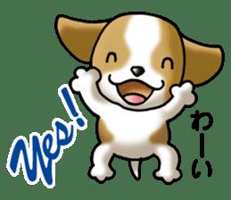 Your reply St. Bernard Dog Sticker sticker #6867226