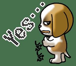Your reply St. Bernard Dog Sticker sticker #6867227