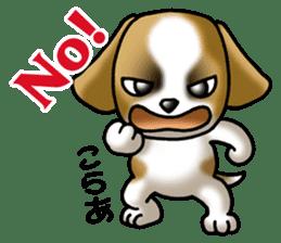 Your reply St. Bernard Dog Sticker sticker #6867228
