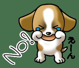 Your reply St. Bernard Dog Sticker sticker #6867229