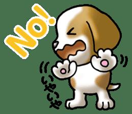 Your reply St. Bernard Dog Sticker sticker #6867230