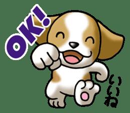 Your reply St. Bernard Dog Sticker sticker #6867232