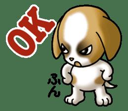 Your reply St. Bernard Dog Sticker sticker #6867235