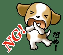 Your reply St. Bernard Dog Sticker sticker #6867236