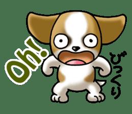 Your reply St. Bernard Dog Sticker sticker #6867240