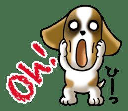 Your reply St. Bernard Dog Sticker sticker #6867241