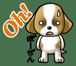 Your reply St. Bernard Dog Sticker sticker #6867243