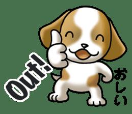 Your reply St. Bernard Dog Sticker sticker #6867244