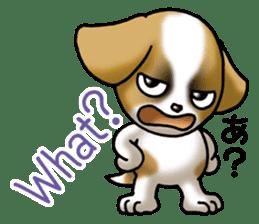 Your reply St. Bernard Dog Sticker sticker #6867252