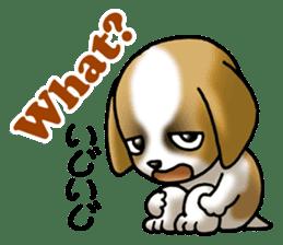 Your reply St. Bernard Dog Sticker sticker #6867253