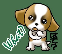 Your reply St. Bernard Dog Sticker sticker #6867255
