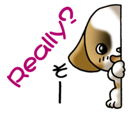 Your reply St. Bernard Dog Sticker sticker #6867257