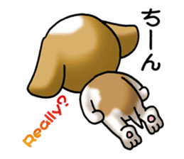 Your reply St. Bernard Dog Sticker sticker #6867258